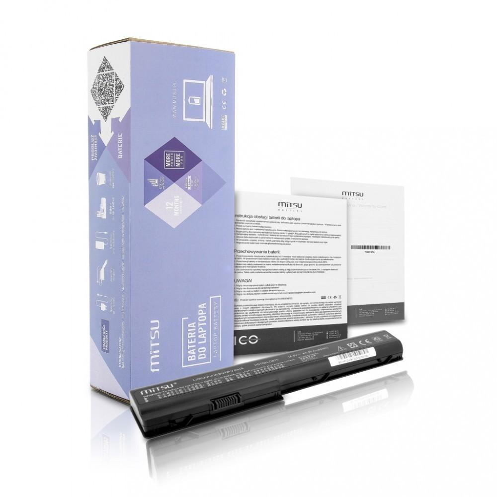 Battery for HP dv7, hdx18 4400 mAh (63 Wh) 14.4 - 14.8 Volt