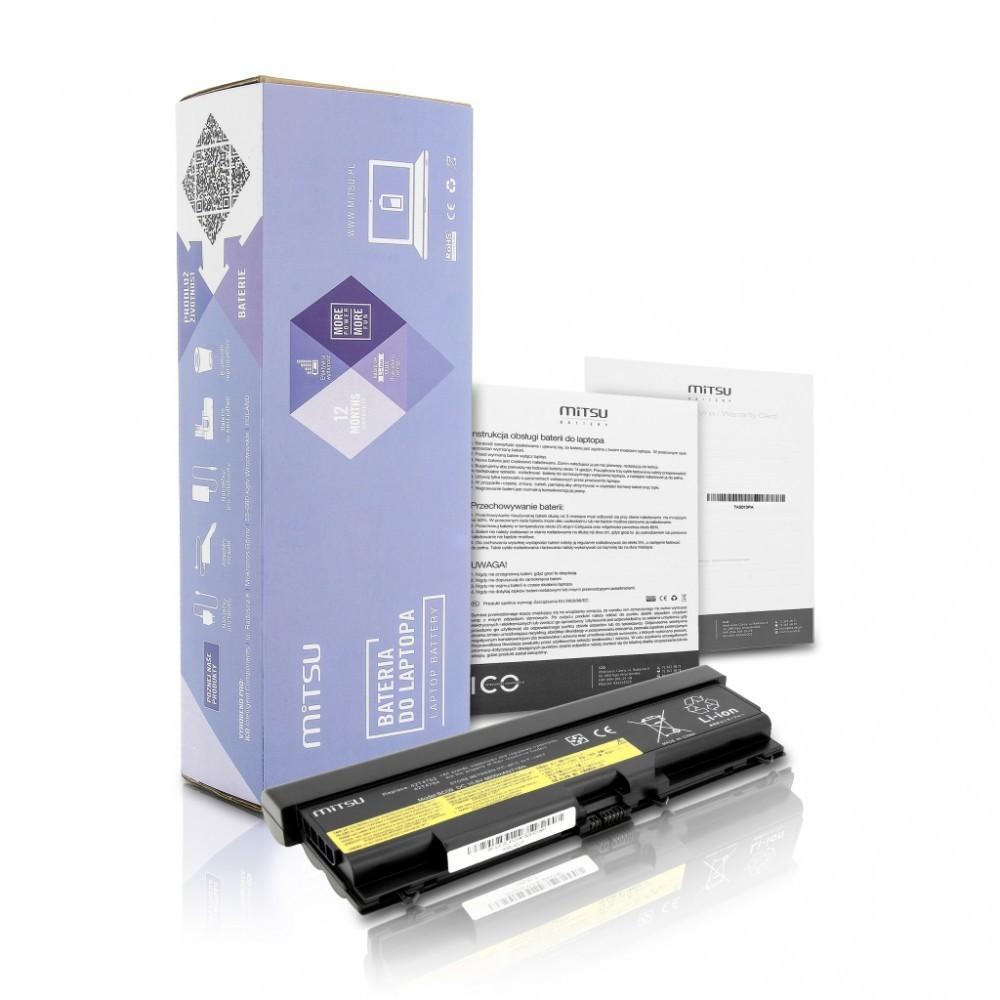 Battery for Lenovo E40, E50, SL410, SL510 6600 mAh (71 Wh) 10.8 - 11.1 Volt