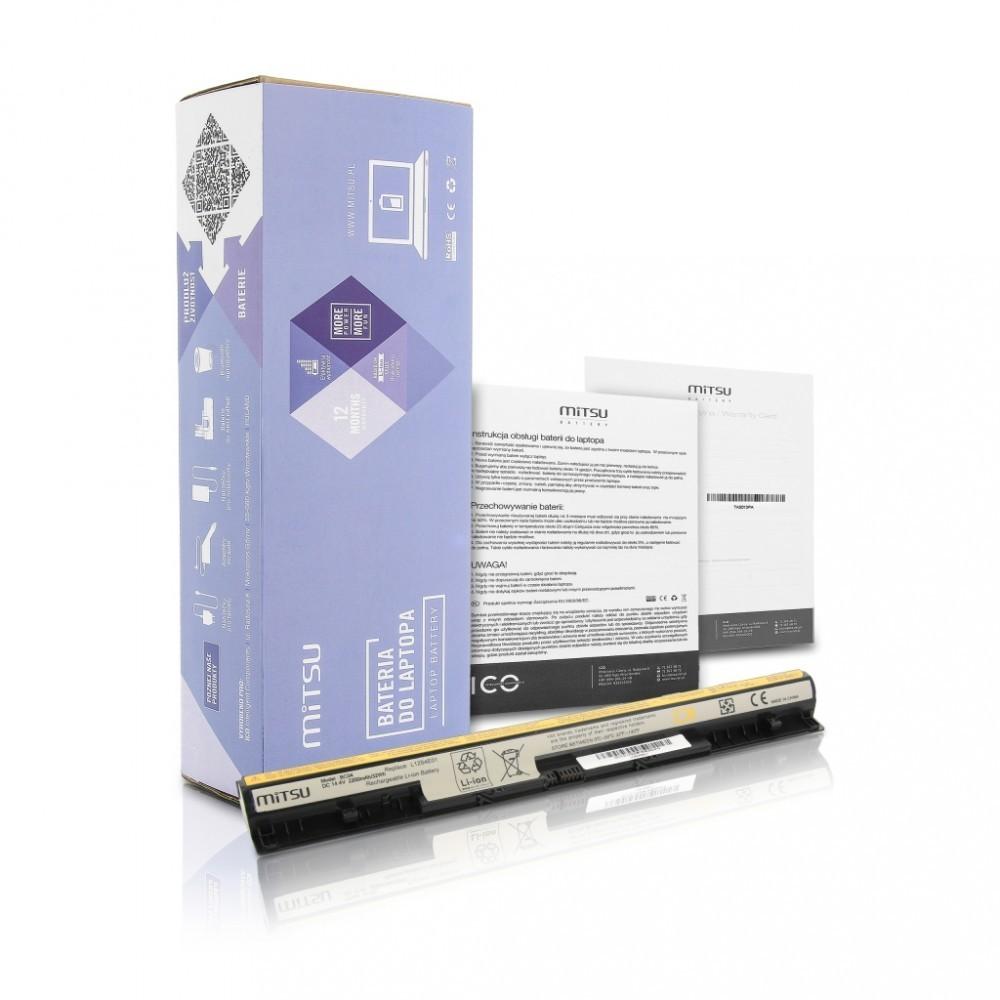Battery for Lenovo IdeaPad G500s, G510s, Z710 2200 mAh (32 Wh) 14.4 - 14.8 Volt