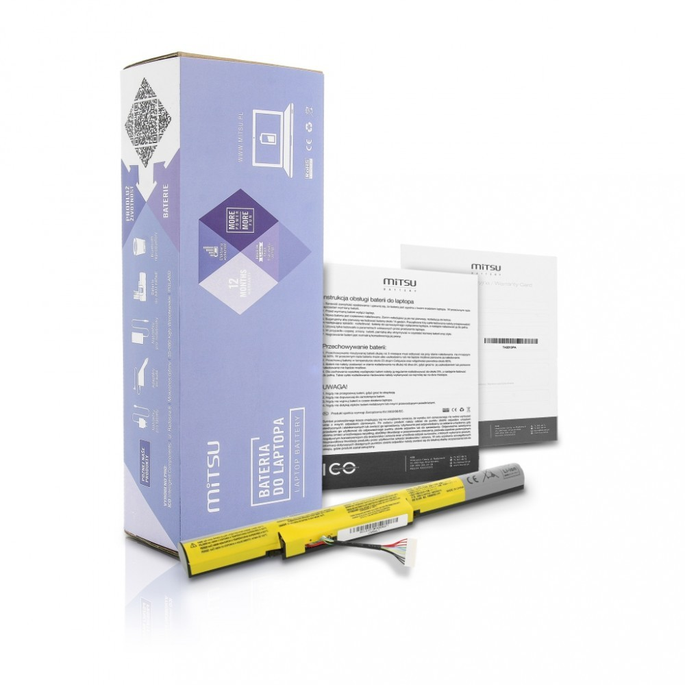 Battery for Lenovo IdeaPad Z510 2200 mAh (32 Wh) 14.4 - 14.8 Volt