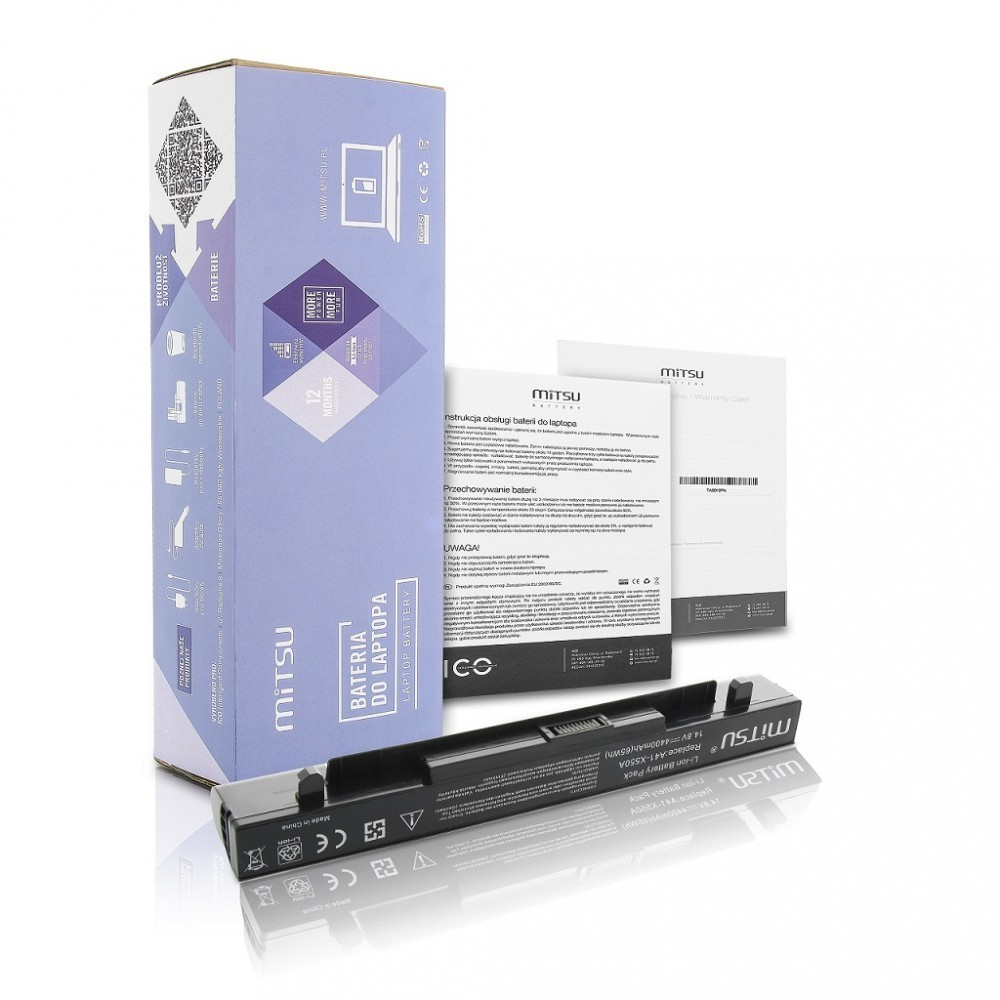 %Mitsu Asus X550, A450 F450, K550 (4400 mAh)