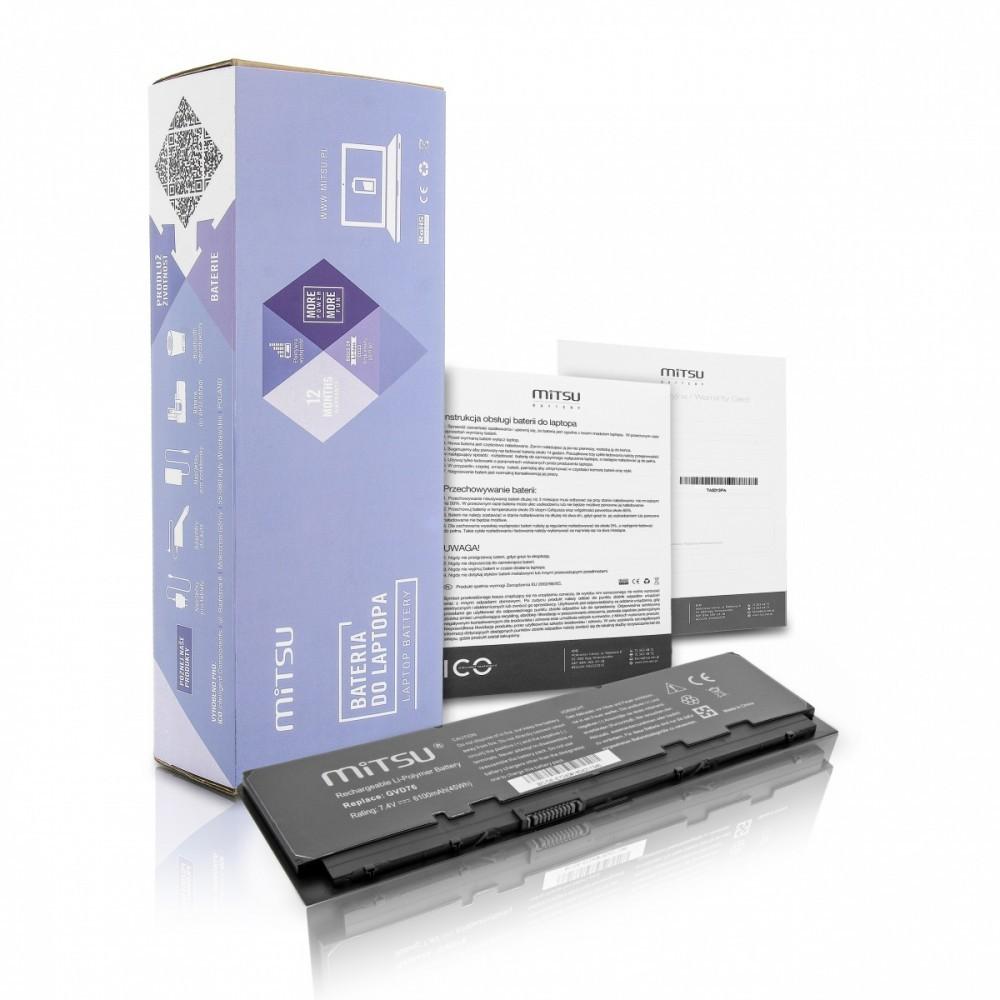 Battery for Dell Latitude E7240 E7250 (5200 mAh)