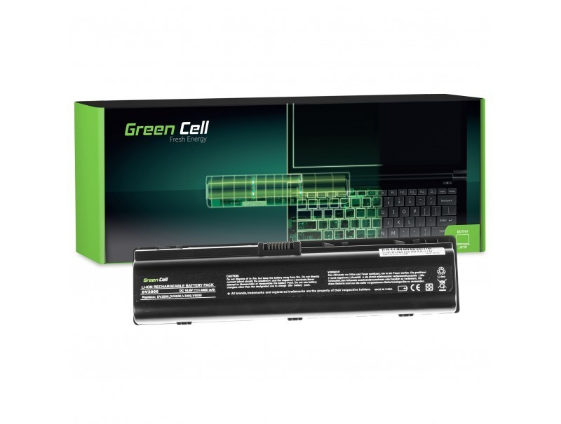 Battery for HP DV2000 11,1V 4400mAh