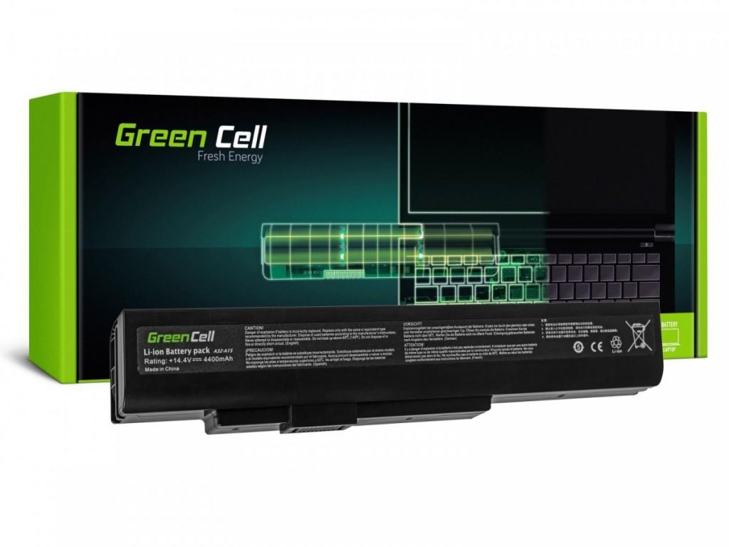 Battery for MSI A6400 14,4V 4400mAh
