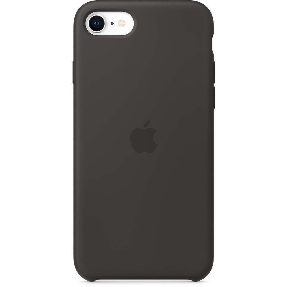 Silicone Case to iPhone SE black