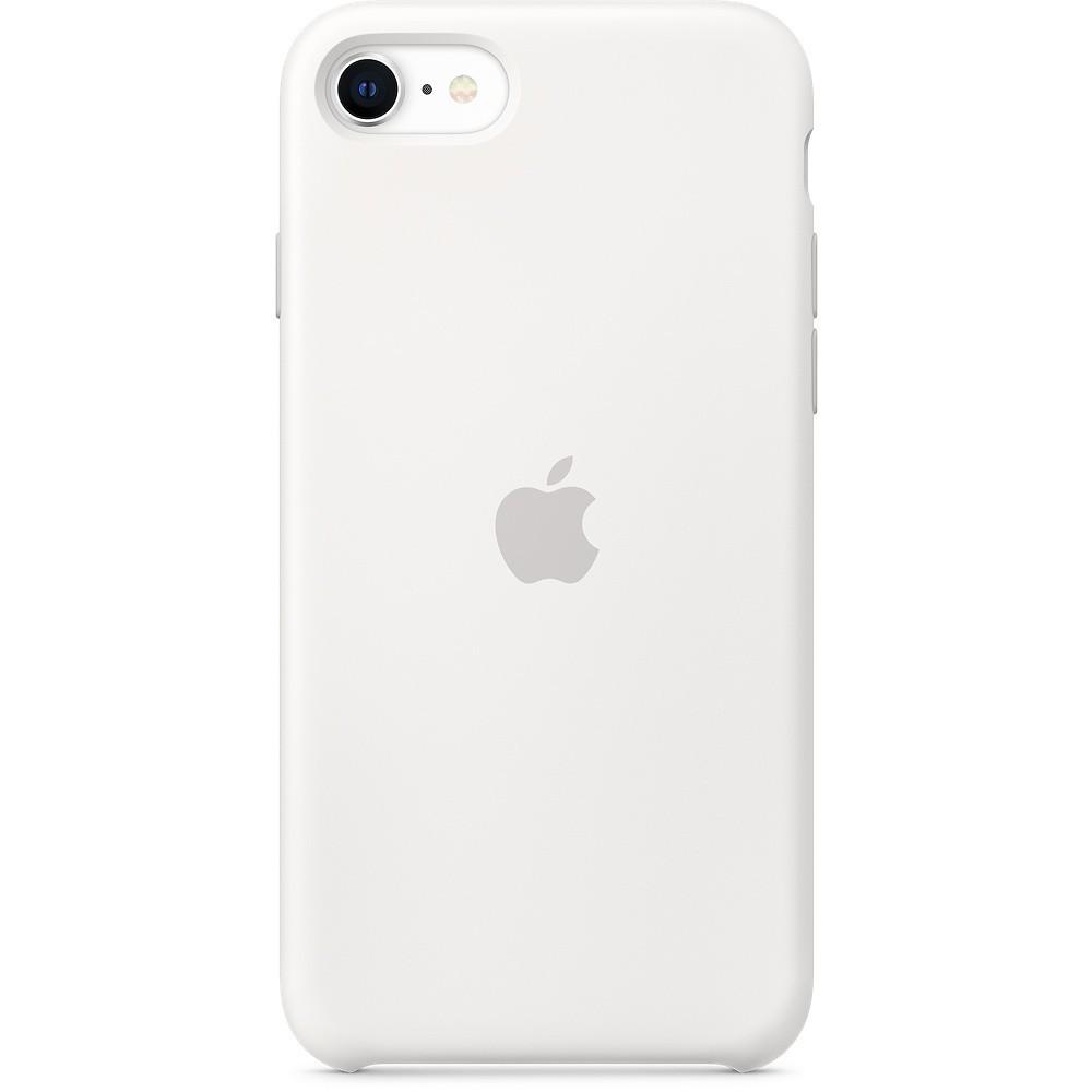 Silicone Case to iPhone SE White