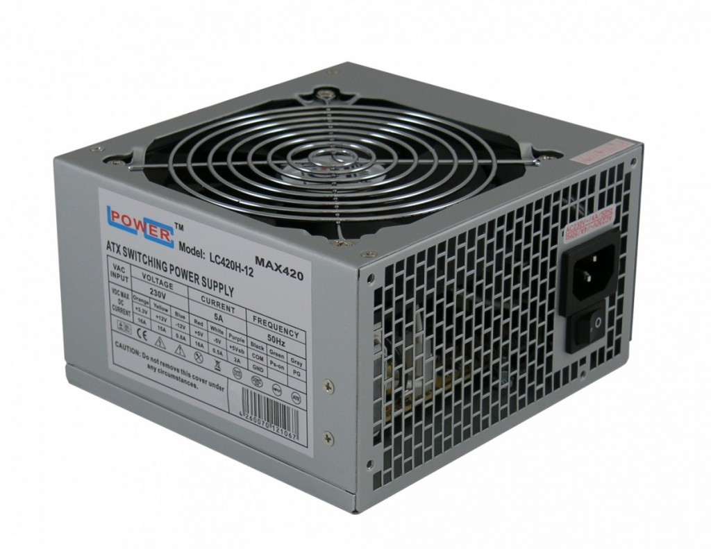Power Supply LC-POWER 420W LC420H-12 V 1.3
