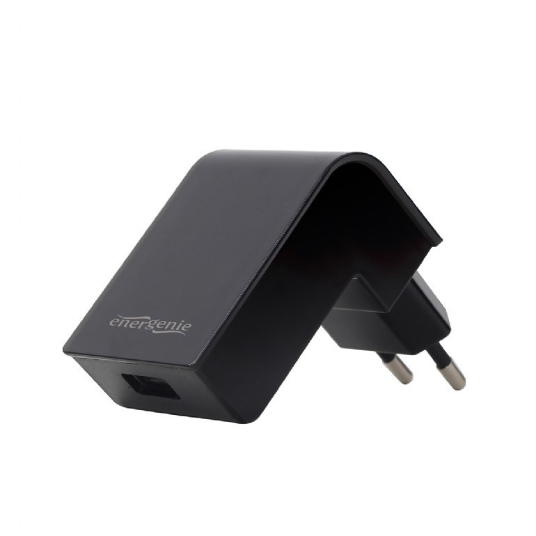 2 ports charger USB 2.1A/black