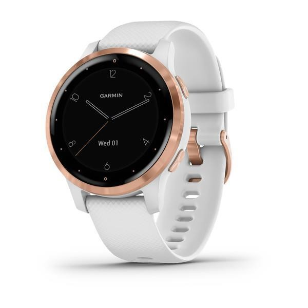 SMARTWATCH VIVOACTIVE 4S/WHITE/ROSE 010-02172-23 GARMIN
