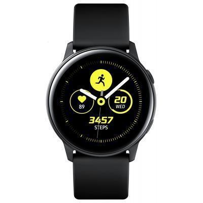 "Samsung Galaxy Watch Active SAMOLED 2,79 cm (1.1"") Must GPS (satelliit)"