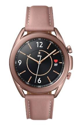 "Samsung Galaxy Watch3 SAMOLED 3,05 cm (1.2"") Pronks GPS (satelliit)"