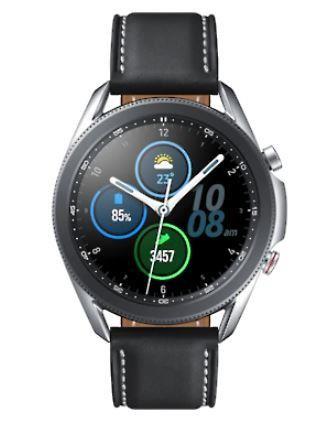 "Samsung Galaxy Watch3 SAMOLED 3,56 cm (1.4"") Hõbe GPS (satelliit)"