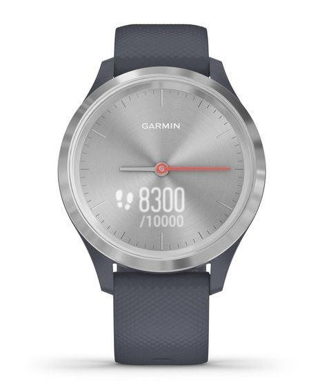 SMARTWATCH VIVOMOVE 3S/SILV/BLUE 010-02238-20 GARMIN