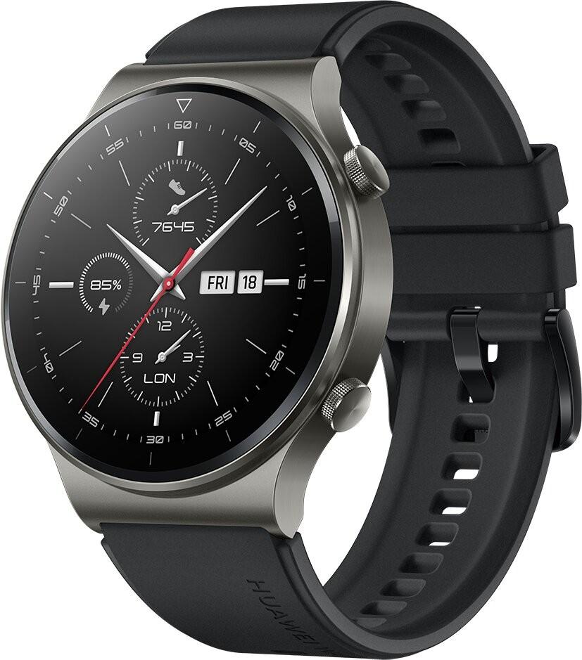 """Huawei WATCH GT 2 Pro AMOLED 3,53 cm (1.39"""") Must GPS (satelliit)"""