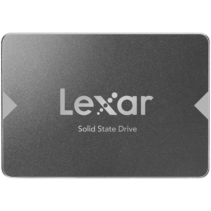 """LEXAR NS100 256GB SSD, 2.5"""", SATA (6Gb/s), up to 520MB/s Read and 440 MB/s write EAN: 843367116195"""
