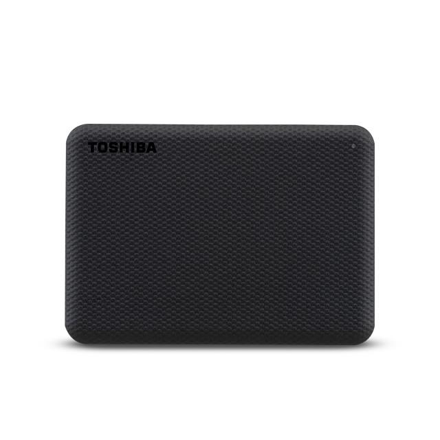 Toshiba Canvio Advance väline kõvaketas 1000 GB Must