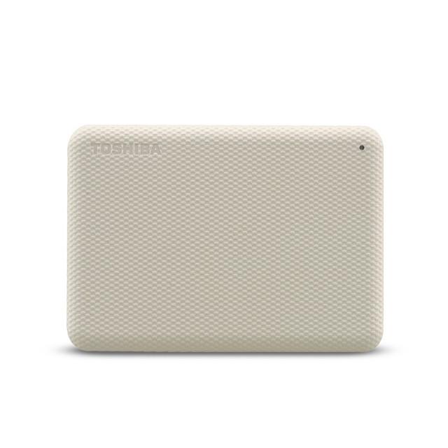 TOSHIBA Canvio Advance 2TB 2.5inch White