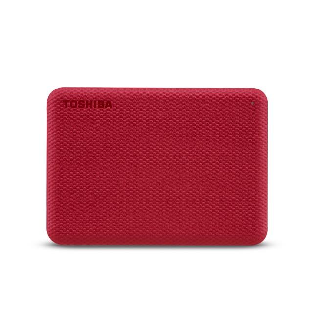 TOSHIBA Canvio Advance 2TB 2.5inch Red