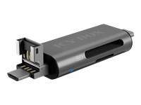 ICY BOX IB-CR201-C3 External card reader