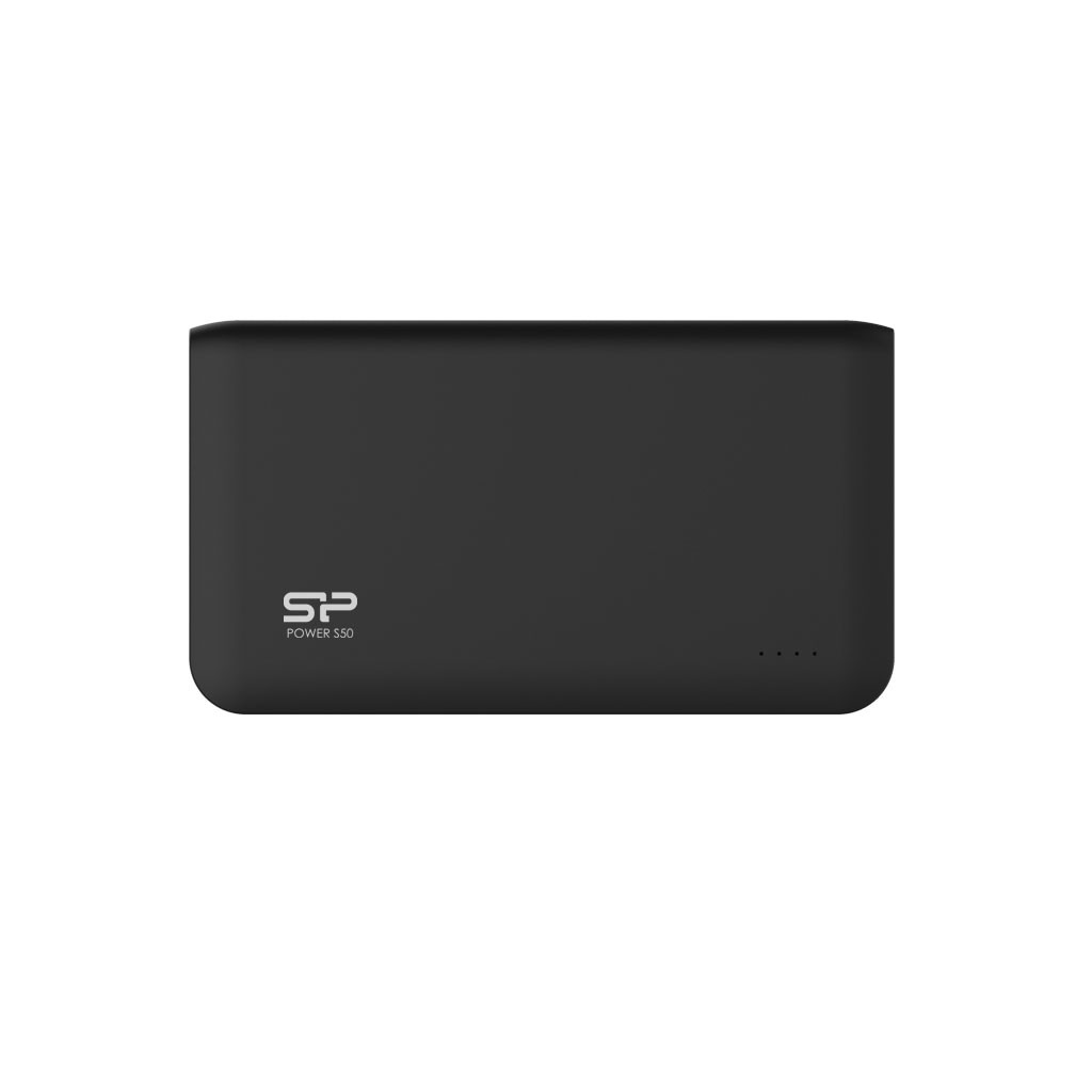 Silicon Power Power Bank S50 Li-Polymer, > 500 charging cycles