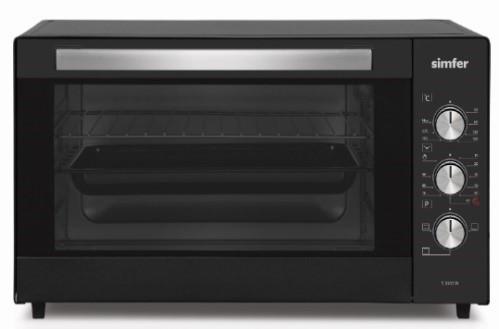 Simfer Midi Oven Oscar M3531.R01N1.AA 35 L, Free standing, Black, 90 min, Mechanical Timer, 1200 W