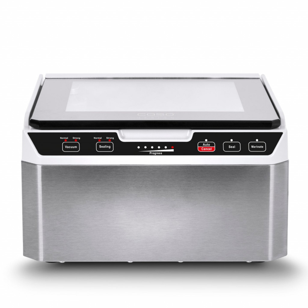 Caso Chamber Vacuum sealer VacuChef 40 Power 280 W, Stainless steel