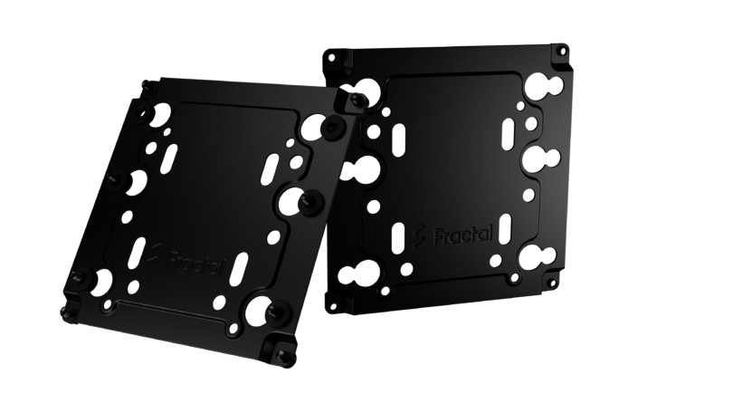 Fractal Design Universal Multibracket – Type A (2-pack) Black