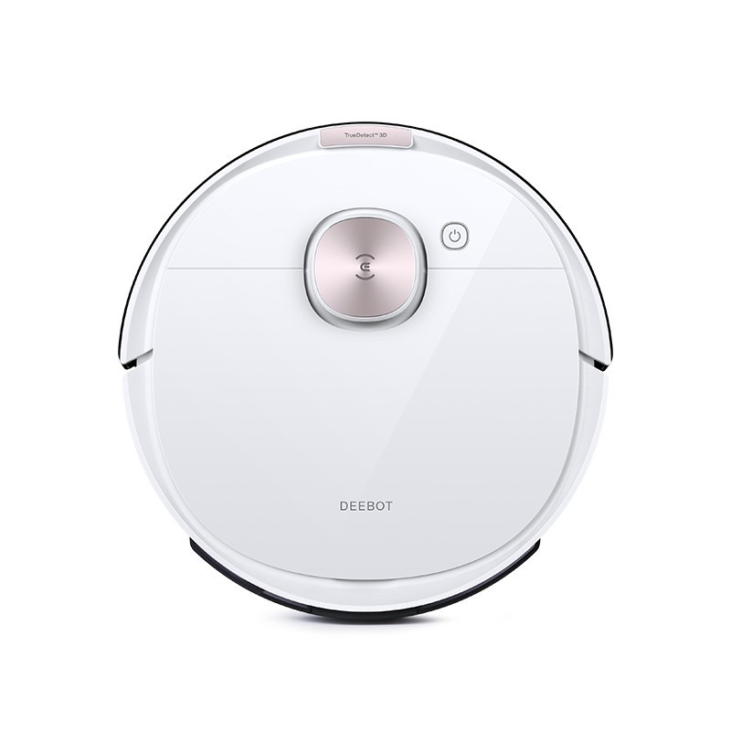 Ecovacs Vacuum cleaner DEEBOT OZMO T8 Wet&Dry, Operating time (max) 175 min, Lithium Ion, 5200 mAh, Dust capacity 0.42 L, 67 dB, White, Battery warranty 24 month(s)