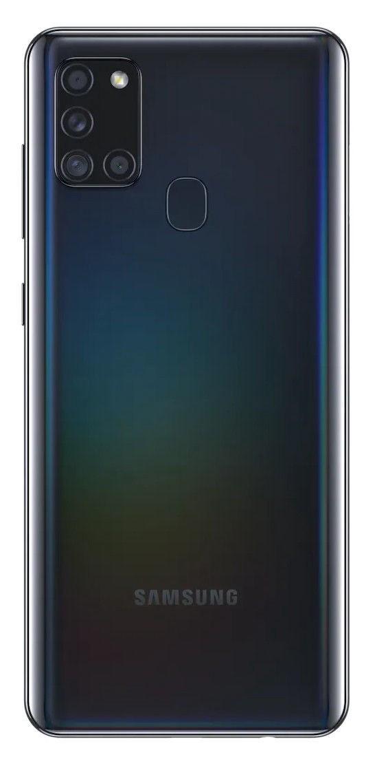 "Samsung Galaxy A21s Black, 6.5 "", PLS TFT, 720 x 1600, Exynos 850, Internal RAM 3 GB, 32 GB, microSDXC, Dual SIM, Nano-SIM, 3G, 4G, Android, 10.0"
