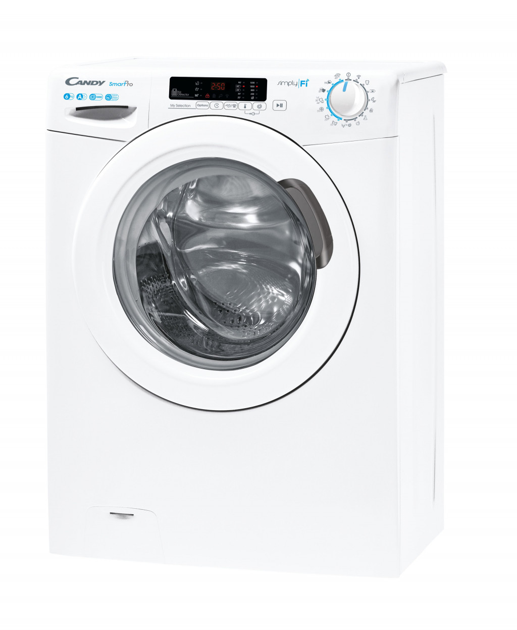 Candy Washing machine CO4 1062D3\1-S A+++, Front loading, Washing capacity 6 kg, 1000 RPM, Depth 45 cm, Width 60 cm, Display, LED, White
