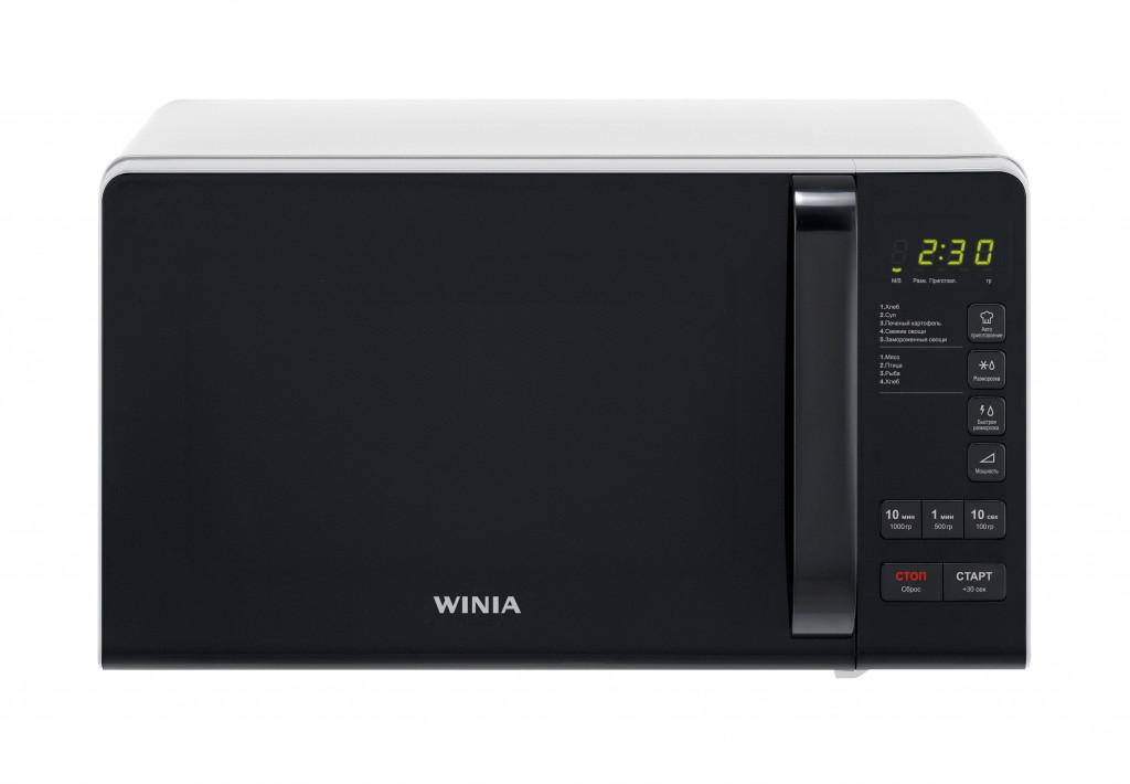 Winia Microwave oven KOR-663KW Free standing, 700 W, White
