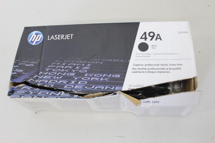 SALE OUT. Laser Cartridge HP 49A Black (Q5949A) 2500pages OEM SKO DAMAGED PACKAGING