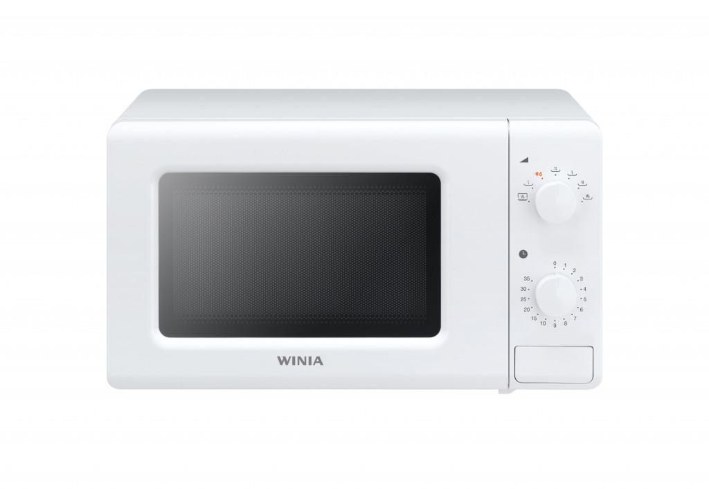 Winia Microwave oven KOR-6617WW Free standing, 700 W, White