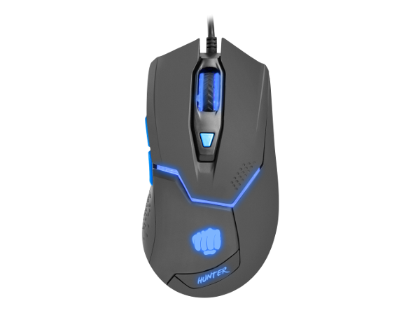 Fury Hunter 2.0, RGB LED light, Black, Wired Optical Gaming Mouse
