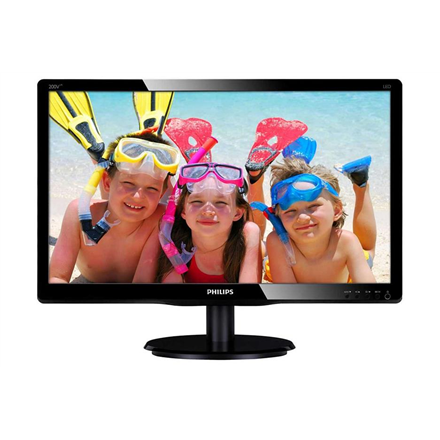 """Philips V Line 200V4LAB2/00 LED display 49,5 cm (19.5"""") 1600 x 900 pikslit HD+ Must"""