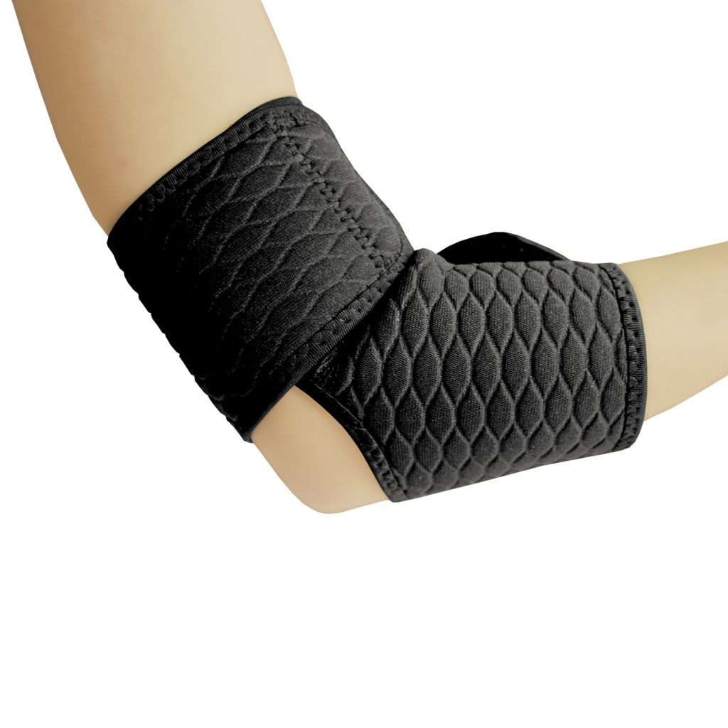 Spokey CUBI Elbow support, Universal, Black