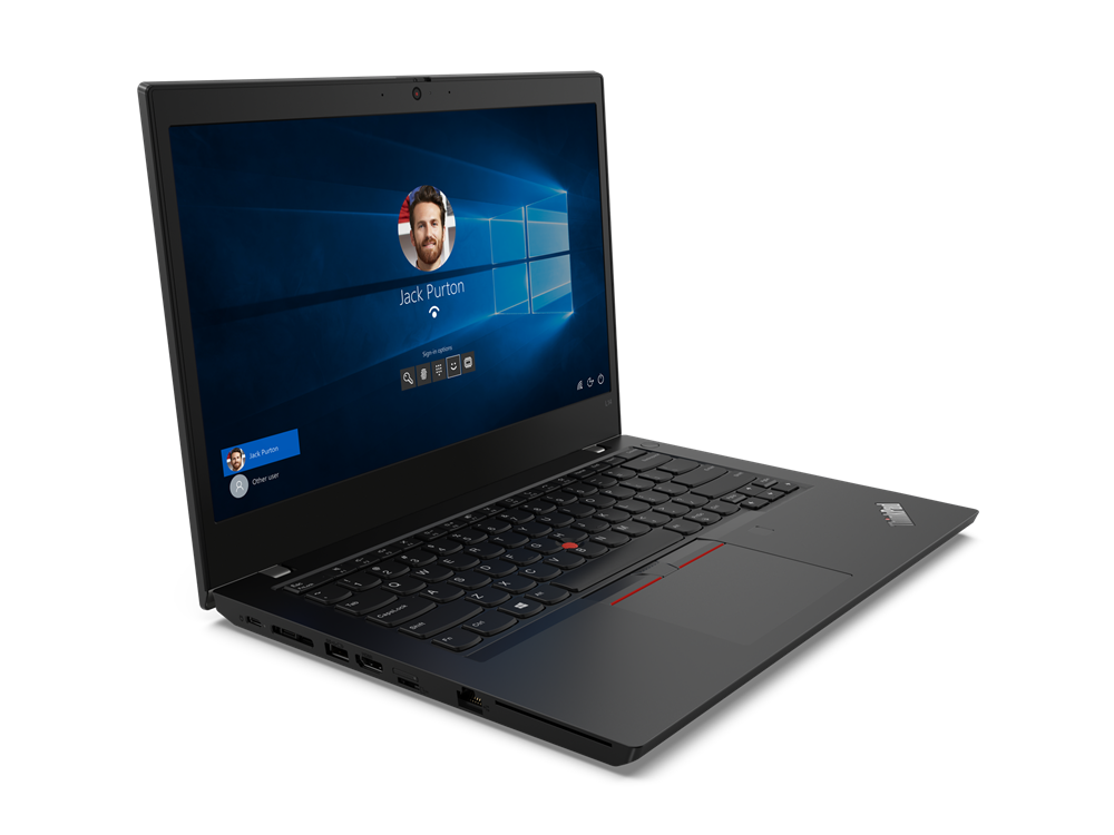 "Lenovo ThinkPad L14 (Gen 1) Black, 14.0 "", IPS, Full HD, 1920 x 1080, Matt, Intel Core i5, i5-10210U, 8 GB, SSD 256 GB, Intel UHD, No Optical drive, Windows 10 Pro, 802.11ax, Bluetooth version 5.0, LTE Upgradable, Keyboard language Nordic, Keyboard backlit, Warranty 12 month(s)"