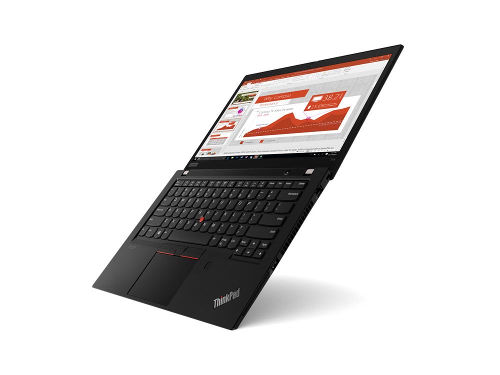 "Lenovo ThinkPad T14 (Gen 1) Black, 14.0 "", IPS, Full HD, 1920 x 1080, Matt, Intel Core i5, i5-10210U, 16 GB, SSD 256 GB, Intel UHD, No Optical drive, Windows 10 Pro, 802.11ax, Bluetooth version 5.0, LTE Upgradable, Keyboard language Nordic, Keyboard backlit, Warranty 36 month(s), Battery warranty 12 month(s)"