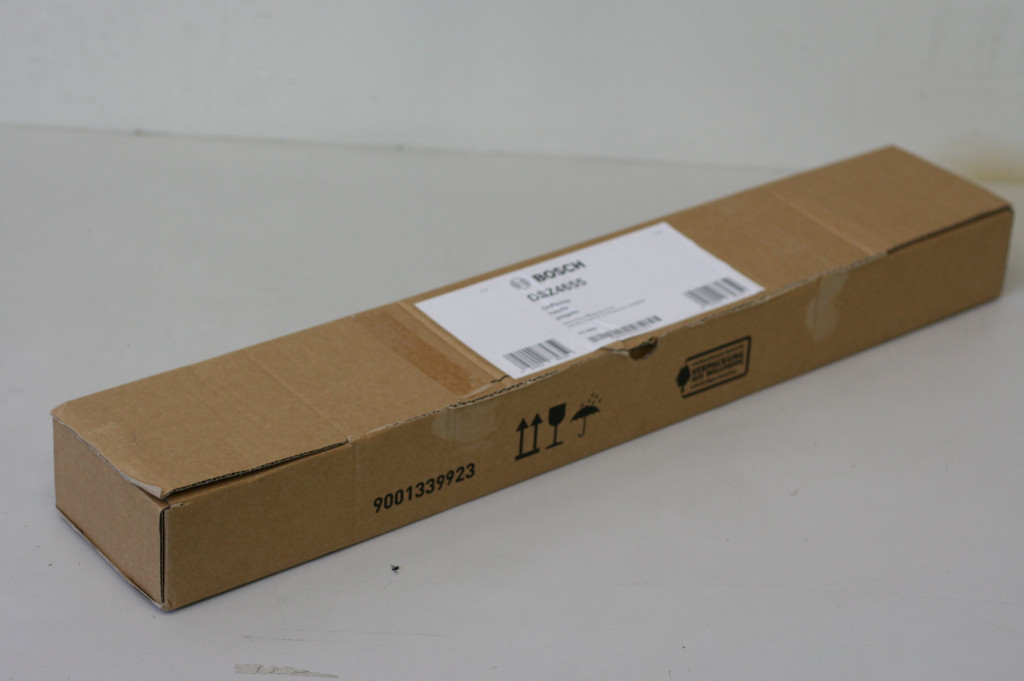 SALE OUT. Bosch Handle strip DSZ4655 For all 60cm wide Hoods, Stainless steel, DAMAGED PACKAGING, DENT