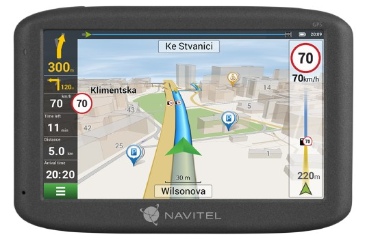 Navitel GPS Navigation MS600 800 х 480 pixels, GPS (satellite), Maps included