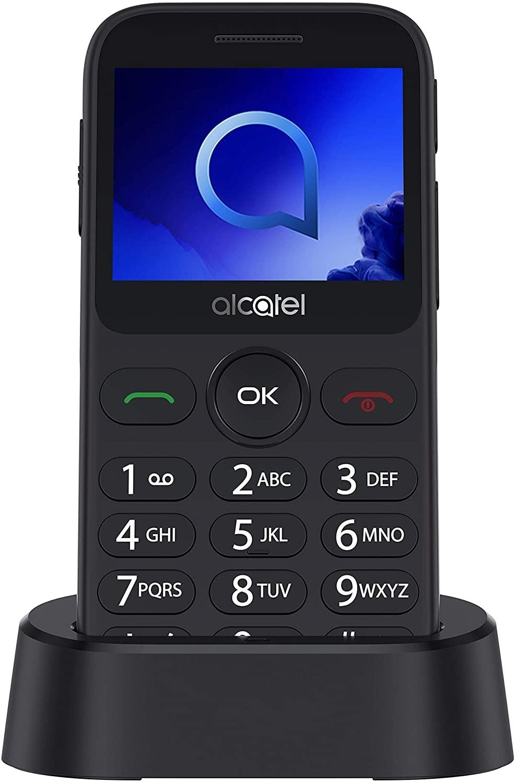 """Alcatel 2019G  Black/Metallic Silver, 2.4 """", 240 x 320 pixels, 1 MB, 16 MB, Singe SIM, Bluetooth, Main camera 2 MP, 970 mAh"""