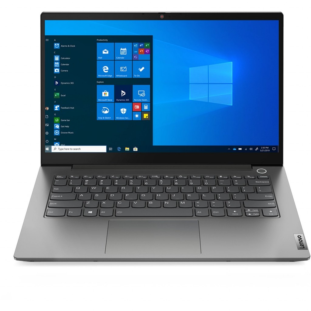"Lenovo ThinkBook 14 ARE (Gen 2) Mineral Grey, 14.0 "", IPS, Full HD, 1920 x 1080, Matt, AMD, Ryzen 7 4700U, 16 GB, SSD 512 GB, AMD Radeon, No Optical drive, Windows 10 Pro, 802.11ax, Bluetooth version 5.1, Keyboard language Nordic, Keyboard backlit, Warranty 12 month(s)"