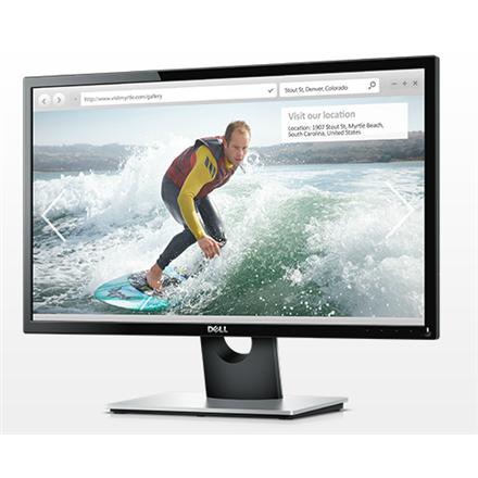 "Dell SE2416H 23.8 "", IPS, FHD, 1920 x 1080 pixels, 16:9, 6 ms, 250 cd/m², Black, HDMI, VGA, Warranty 36 month(s)"