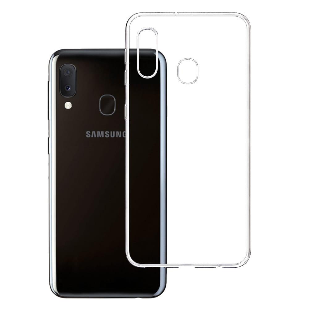 3MK For Samsung Galaxy A20e, TPU, Transparent, Clear phone case