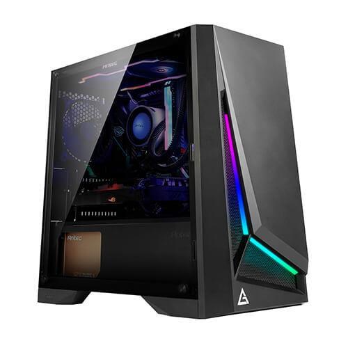 Case|ANTEC|DP301M|MicroTower|Not included|MicroATX|MiniITX|Colour Black|0-761345-80020-4