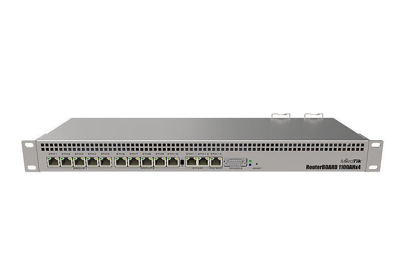 NET ROUTER 10/100/1000M 13PORT/RB1100X4 MIKROTIK