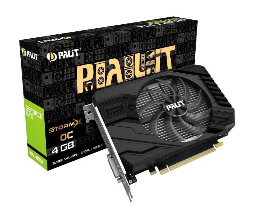 Graphics Card|PALIT|NVIDIA GeForce GTX 1650 SUPER|4 GB|128 bit|PCIE 3.0 16x|GDDR6|GPU 1530 MHz|Dual Slot Fansink|1xDVI|1xHDMI|1xDisplayPort|NE6165SS18G1-166F