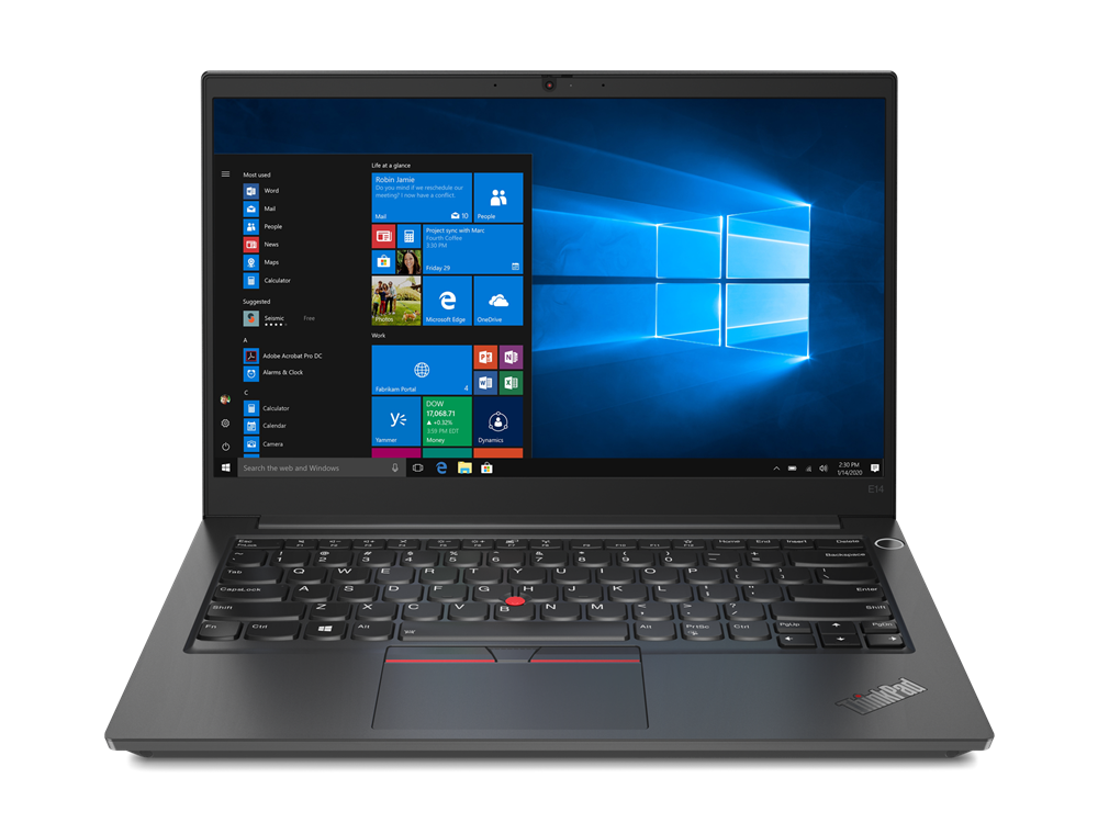 "Lenovo ThinkPad E14 (Gen 2) Black, 14.0 "", IPS, Full HD, 1920 x 1080, Matt, Intel core i5, i5-1135G7, 8 GB, DDR4, SSD 256 GB, Intel Iris Xe, Windows 10 Pro, 802.11ax, Bluetooth version 5.1, Keyboard language Nordic, Keyboard backlit, Warranty 12 month(s), Battery warranty 12 month(s)"