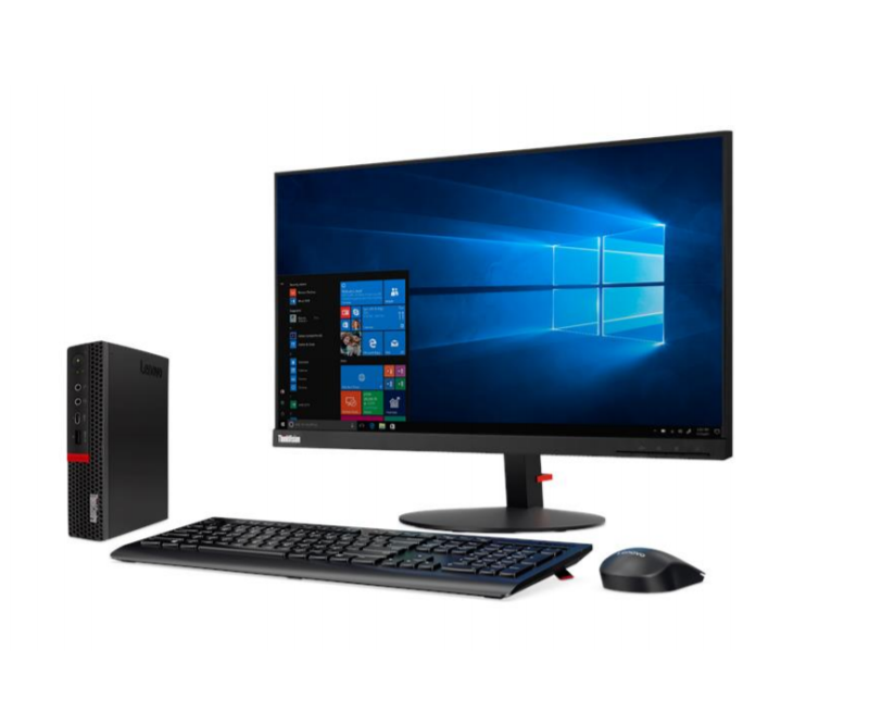Lenovo ThinkCentre M720q Desktop, Tiny, Intel Core i5, i5-8400T, Internal memory 8 GB, DDR4, SSD 256 GB, Intel UHD, Keyboard language English, Windows 10 Pro, Warranty 36 month(s)