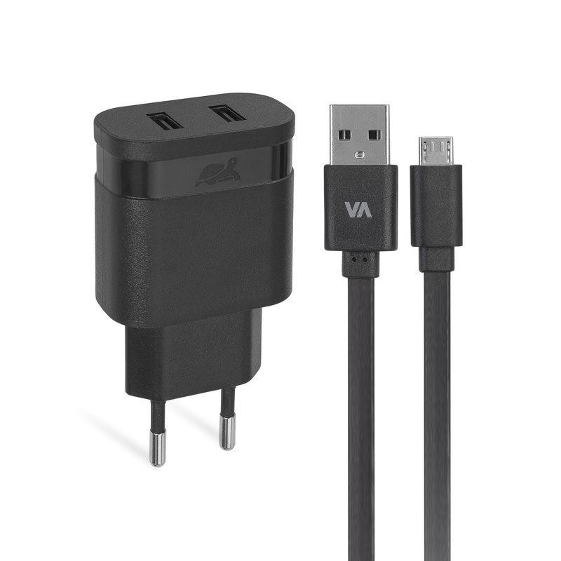 MOBILE CHARGER WALL/BLACK VA4122 BD1 RIVACASE